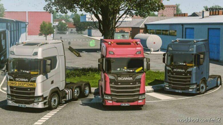 Scania R&S Next GEN Sound for Euro Truck Simulator 2