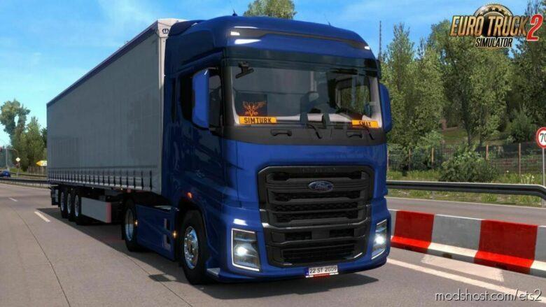 Ford Trucks F-Max V2.2 [1.42] for Euro Truck Simulator 2
