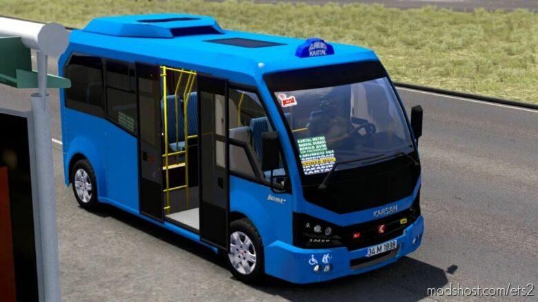 Karsan Jest V1.1R70 [1.41] for Euro Truck Simulator 2