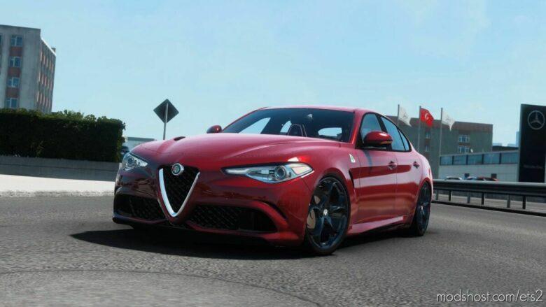 Alfa Romeo Giulia V1R70 [1.41] for Euro Truck Simulator 2