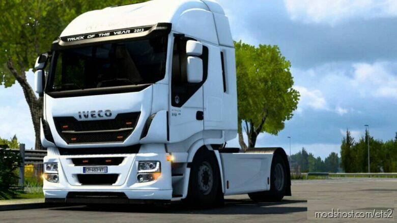 Iveco HI WAY Tuning Mod [1.42] Beta for Euro Truck Simulator 2
