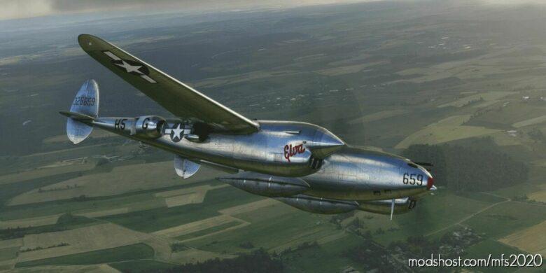 "Lockheed P-38 ""Viking 2"" 367TH Fg/392Nd FS for Microsoft Flight Simulator 2020"