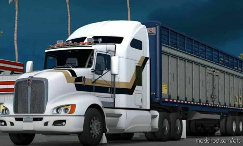 Kenworth T660 V3.4 [1.42] for American Truck Simulator