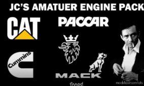 JC'S Amateur Engine Pack V1.0.1 for American Truck Simulator