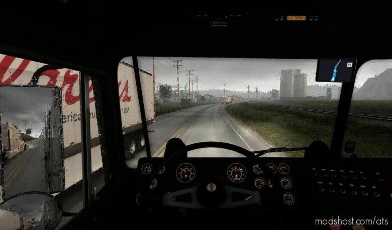 Realistic Rain V4.0.1 [1.42] for American Truck Simulator