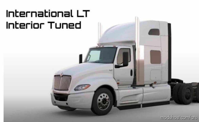 International LT Interior Tuned [1.41 – 1.42] for American Truck Simulator