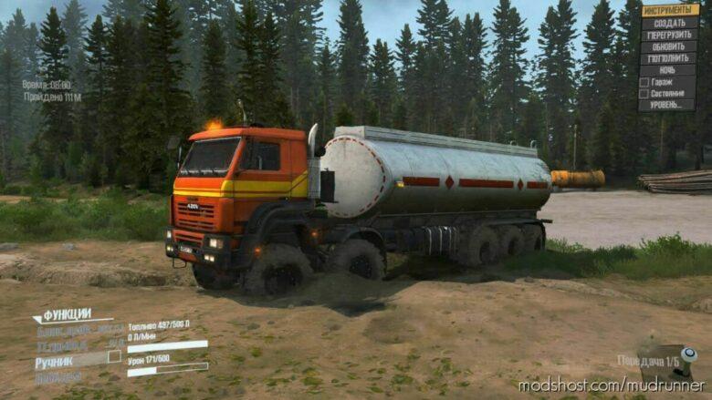Azov 7330 Truck for MudRunner