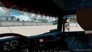 Scania RJL Highline Interior Blue Danish Plush [1.42] for Euro Truck Simulator 2