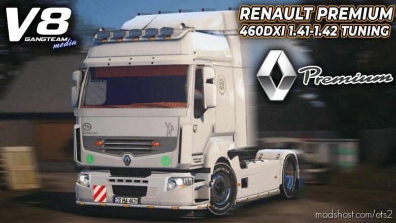 Renault Premium 460DXİ Tuning [1.42] for Euro Truck Simulator 2