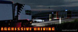 Aggressive Driving [1.41 – 1.42] for Euro Truck Simulator 2