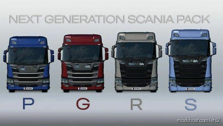 Next Generation Scania P G R S V.2.4.1 [1.42] for Euro Truck Simulator 2
