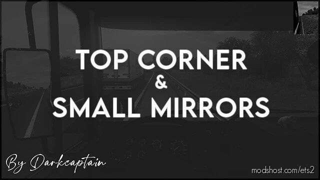 TOP Corner & Small Mirrors [1.42] for Euro Truck Simulator 2