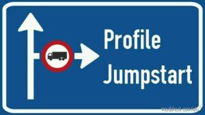 Profile Jumpstart: Cash & XP Boost V8.02 [1.42] for Euro Truck Simulator 2