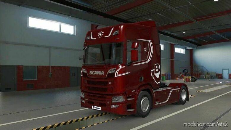 Scania Nextgen 2016 P G R S Official V2.4.1 Fixed [1.41 – 1.42] for Euro Truck Simulator 2