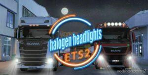 Halogen Headlights Mod [1.41 – 1.42] for Euro Truck Simulator 2