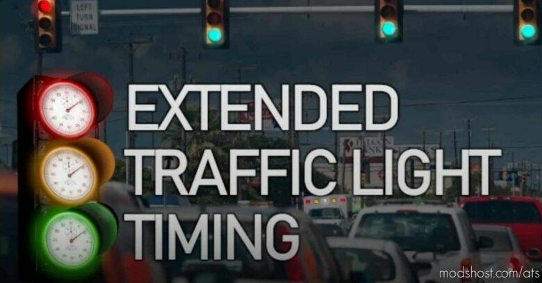 Extended Traffic Light Timing [1.41 – 1.42] for American Truck Simulator
