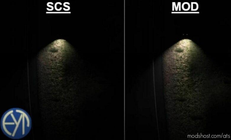 Reverse Lights – Farther, Wider, Brighter V1.0.1 for American Truck Simulator