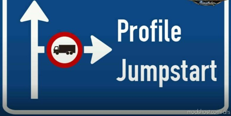 Profile Jumpstart: Cash & XP Boost V4.02 [1.42] for American Truck Simulator