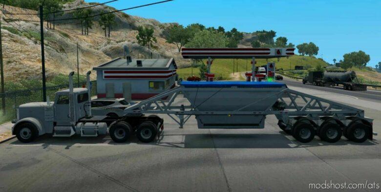 Ownable Bottom Dump Trailer V1.1 [1.42] for American Truck Simulator