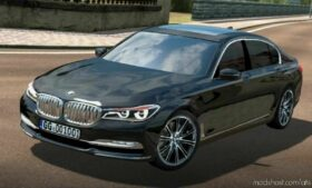 BMW 750LD Xdrive 2017 + Interior V1.7 By Buraktuna24 [1.41] for American Truck Simulator