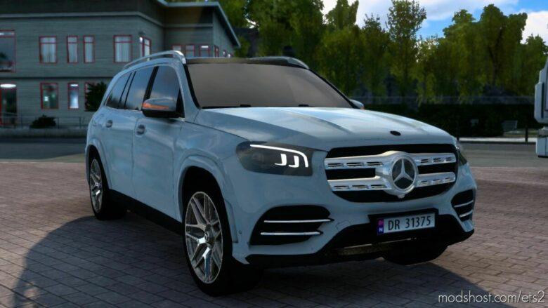 Mercedes Benz X167 Gls-Class [1.41] for Euro Truck Simulator 2