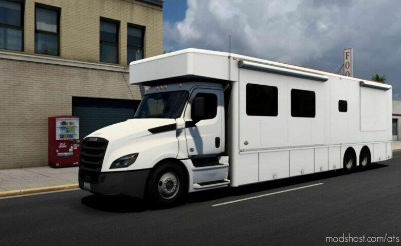 Freightliner Cascadia NRC RV Motorhome V1.1 for American Truck Simulator