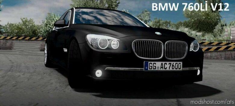BMW M760LI + Interior V1.7 [1.41] for American Truck Simulator