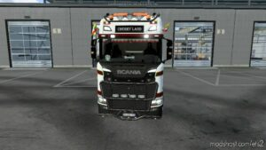 Cherry Land Skin For Scania S for Euro Truck Simulator 2