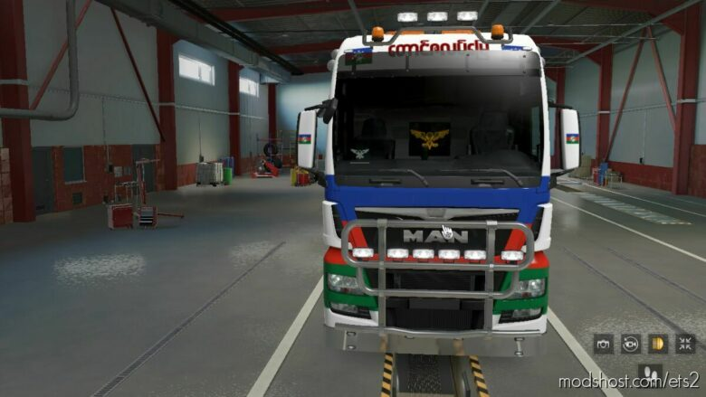 Chin Skin For MAN TGX Euro 6 for Euro Truck Simulator 2