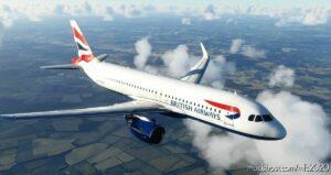 British Airways (Dirty) [8K] – Fbw A32Nx V1.1 for Microsoft Flight Simulator 2020