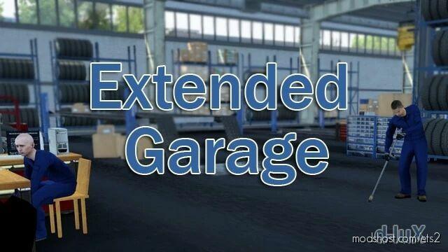 Extended Garage V1.3 [1.42] for Euro Truck Simulator 2