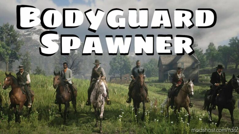 Bodyguard spawner for Red Dead Redemption 2