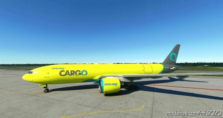 Captain SIM 777F Everyair Logistics VA for Microsoft Flight Simulator 2020