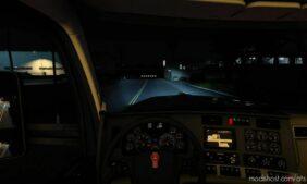 Blue Xenon Lights V1.1 [1.41 – 1.42] for American Truck Simulator