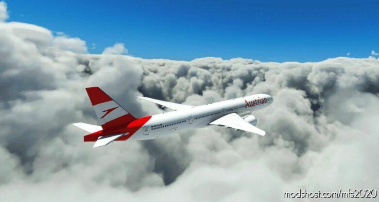 Austrian Airlines CS B777-300ER for Microsoft Flight Simulator 2020