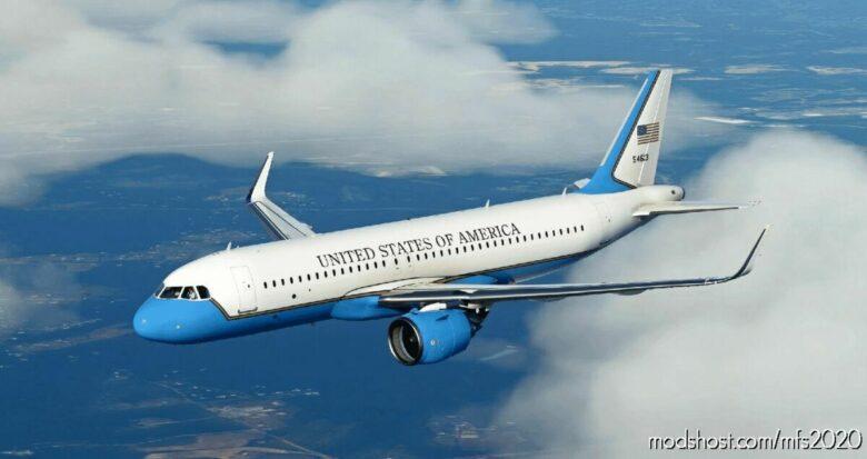 "AIR Force ""2"" – FBW A32NX for Microsoft Flight Simulator 2020"