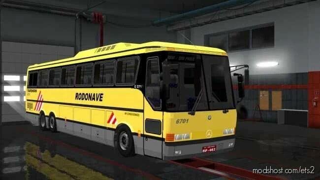 Monobloco O370/O371 6×2 4×2 V2.3 for Euro Truck Simulator 2