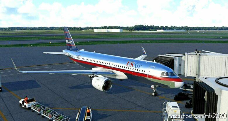 Usair (OLD Colors) – FBW A32NX for Microsoft Flight Simulator 2020