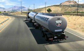 Advanced B-Train Tanker V1.0R (1.3) [1.42] for American Truck Simulator