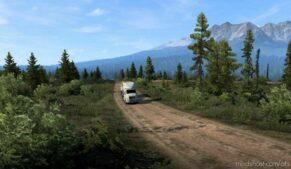 Route Alaska V1.3 for American Truck Simulator