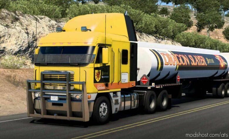 Dragon Slayer Petrol Paint JOB Pack V1.1 for American Truck Simulator