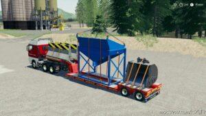 Goldhofer 2 Axle LOW Loader for Farming Simulator 19