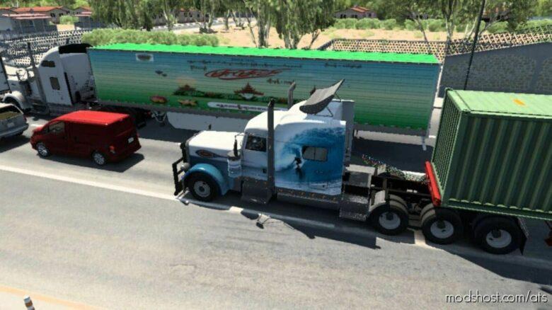 Myanmar Brands And World Brands Traffic for American Truck Simulator