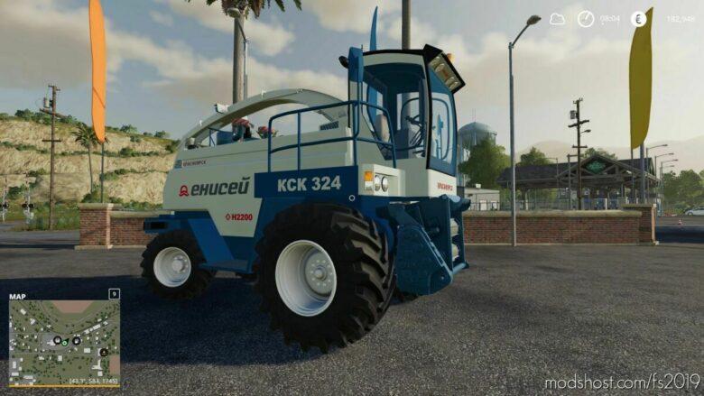 Enisey-324 for Farming Simulator 19