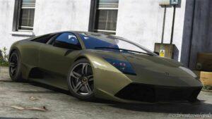 2008 Lamborghini Murcielago LP 640-4 for Grand Theft Auto V
