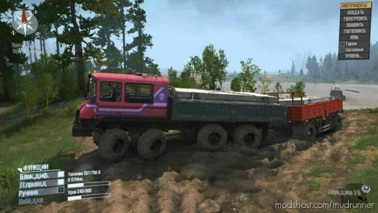 KRS 58 Bandit Truck V2 for MudRunner