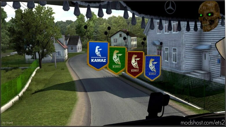 Pennants Kamaz for Euro Truck Simulator 2