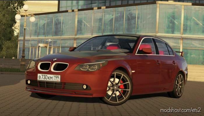 BMW E60 2006 1.5.9 – 1.5.9.2 for Euro Truck Simulator 2