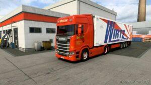 Combo Skin Franz Wirtz Gmbh for Euro Truck Simulator 2