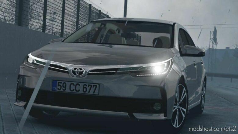 Toyota Corolla 2018 V1.1.1 [1.42] for Euro Truck Simulator 2